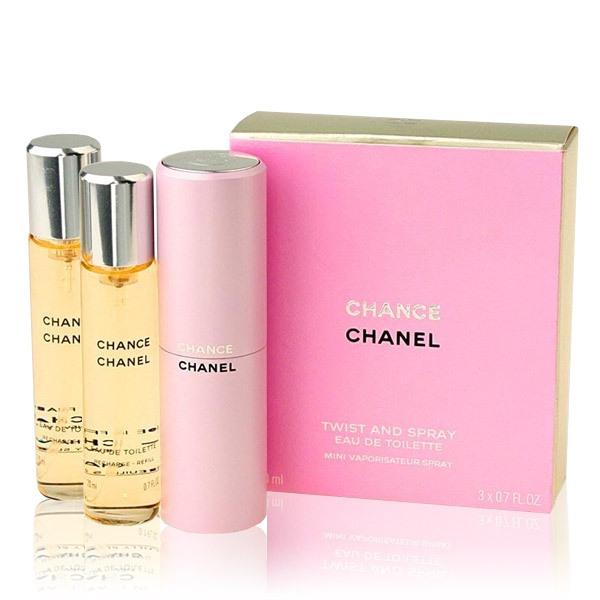 Chanel Chance — туалетная вода 3*20ml для женщин