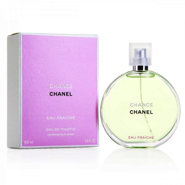 Chanel Chance Eau Fraiche — туалетная вода 100ml для женщин