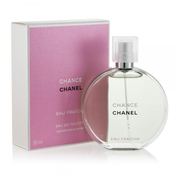 Chanel Chance Eau Fraiche — туалетная вода 50ml для женщин