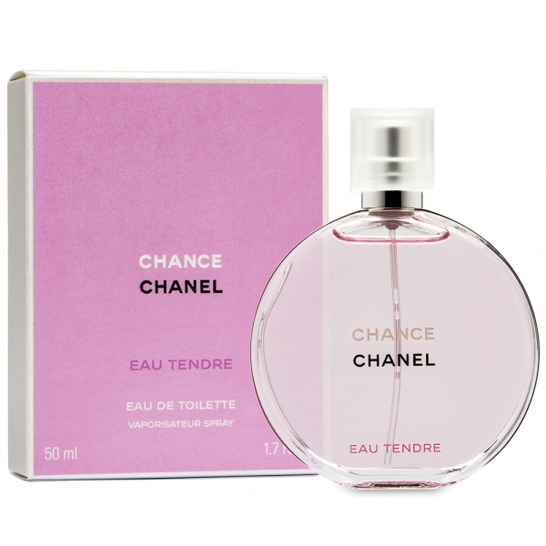 Chanel Chance Eau Tendre — туалетная вода 50ml для женщин