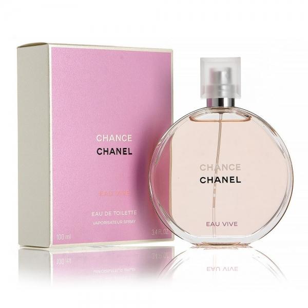 Chanel Chance Eau Vive — туалетная вода 100ml для женщин