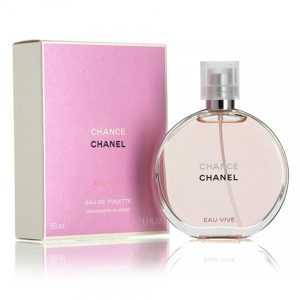 Chanel Chance Eau Vive — туалетная вода 50ml для женщин