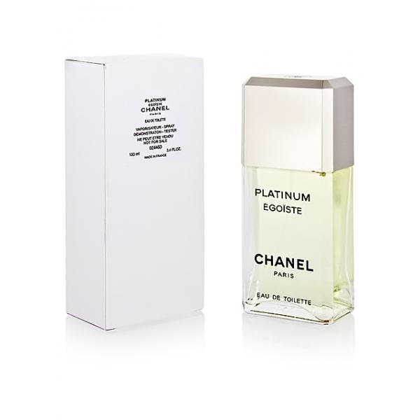 Chanel Egoiste Platinum — туалетная вода 100ml для мужчин ТЕСТЕР