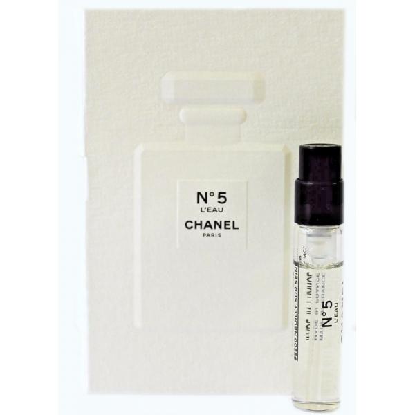 Chanel N 5 L`eau — туалетная вода 2ml для женщин ТЕСТЕР