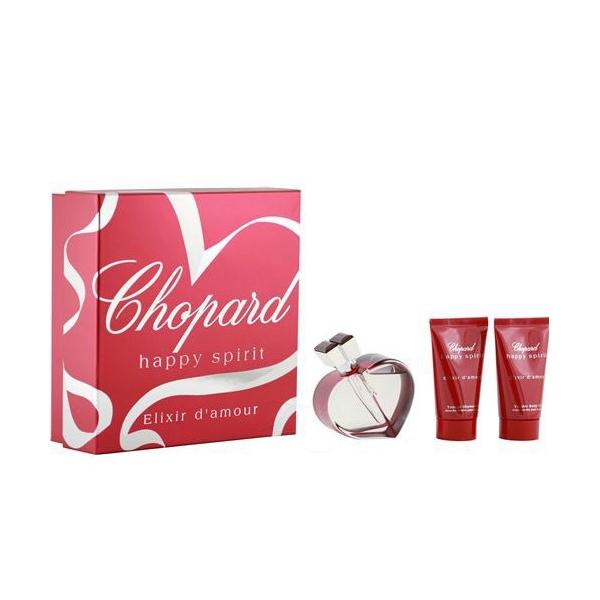 Chopard Happy Spirit Elixir d`amour — набор (edp 75ml+b/lot 50ml+sh/gel 50ml) для женщин