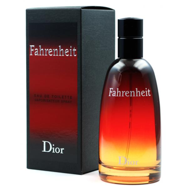 Christian Dior Fahrenheit — туалетная вода 100ml для мужчин