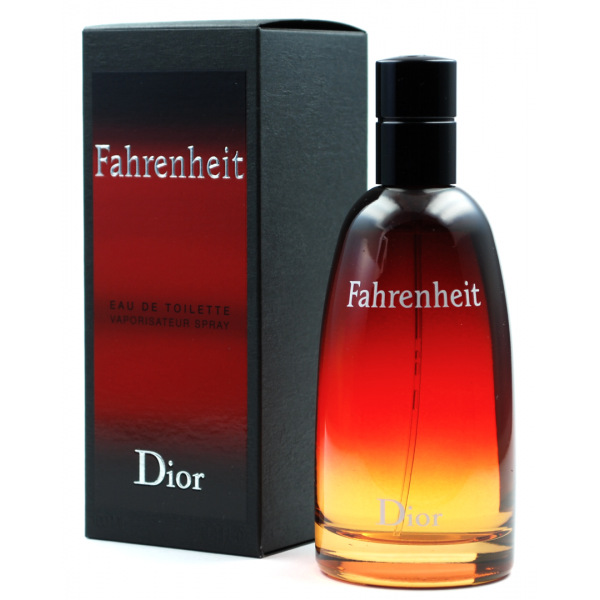 Christian Dior Fahrenheit — туалетная вода 50ml для мужчин