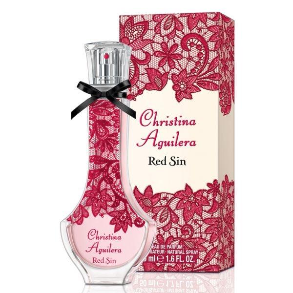 Christina Aguilera Red Sin — парфюмированная вода 50ml для женщин
