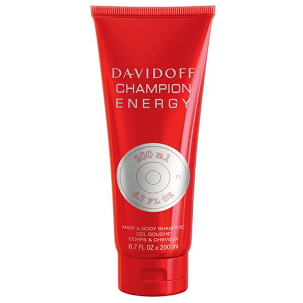 Davidoff Champion Energy — гель для душа 200ml для мужчин