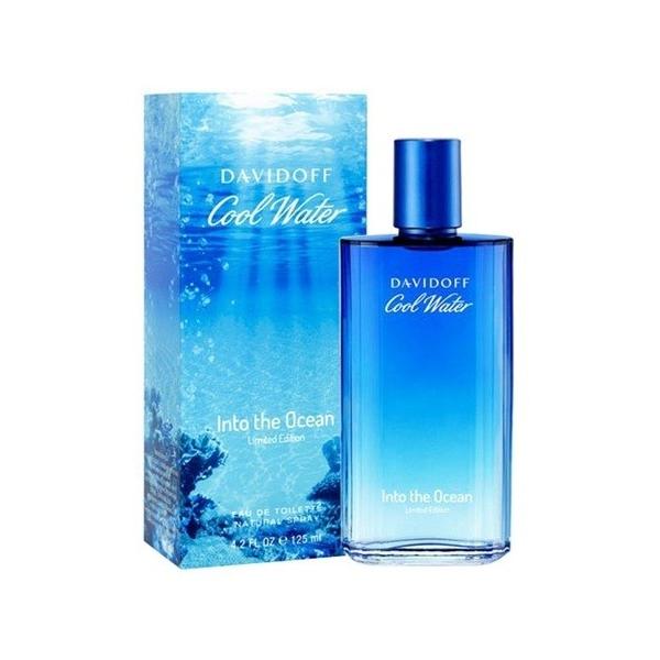 Davidoff Cool Water Into The Ocean — туалетная вода 125ml для мужчин