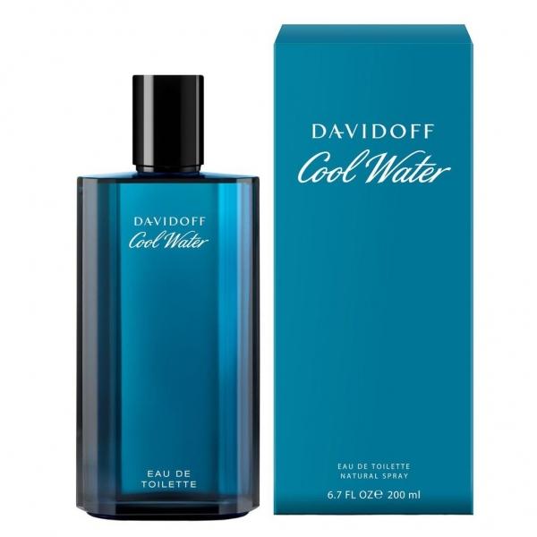 Davidoff Cool Water Men — туалетная вода 200ml для мужчин