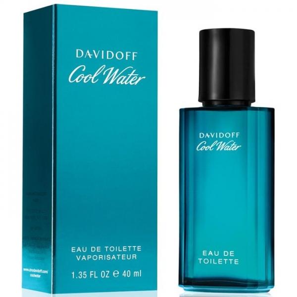 Davidoff Cool Water Men — туалетная вода 40ml для мужчин