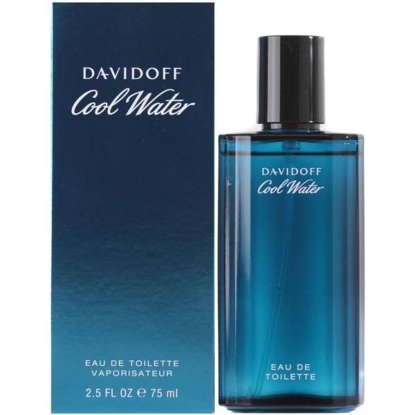 Davidoff Cool Water Men — туалетная вода 75ml для мужчин