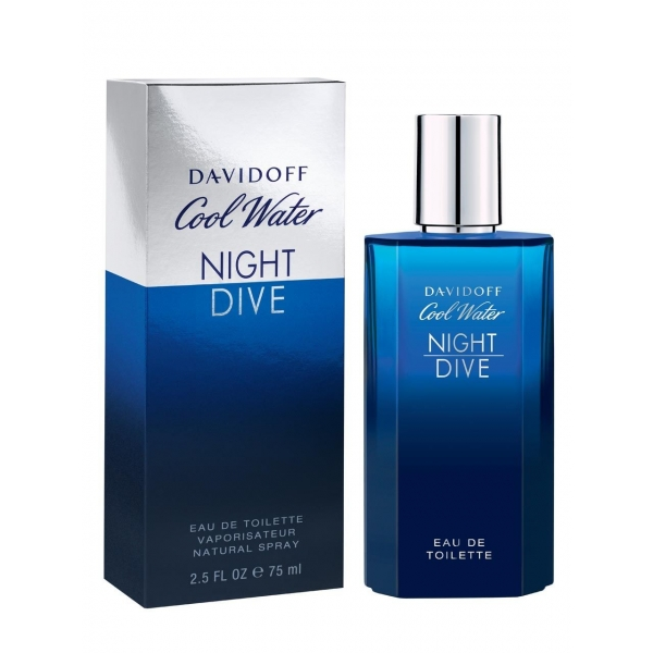 Davidoff Cool Water Night Dive — туалетная вода 75ml для мужчин примятые