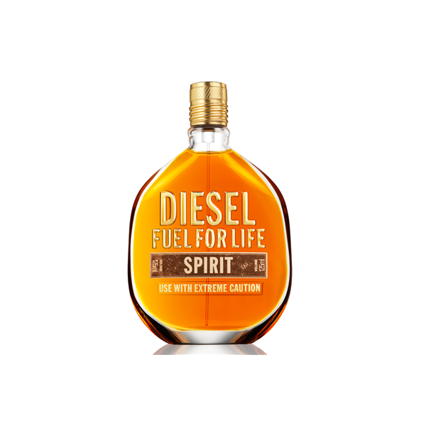 Diesel Fuel For Life Spirit — туалетная вода 75ml для мужчин ТЕСТЕР без коробки