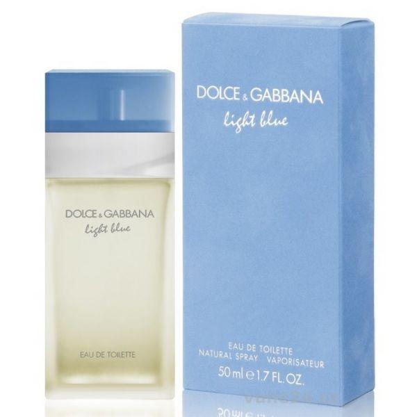 Dolce&Gabbana Light Blue — туалетная вода 50ml для женщин