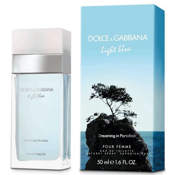 Dolce&Gabbana Light Blue Dreaming in Portofino — туалетная вода 100ml для женщин