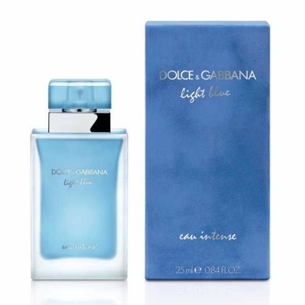 Dolce&Gabbana Light Blue Eau Intense — туалетная вода 25ml для женщин