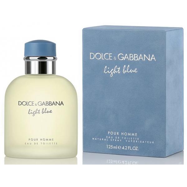 Dolce&Gabbana Light Blue Pour Homme — туалетная вода 125ml для мужчин
