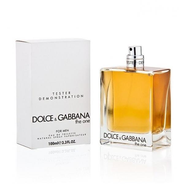 Dolce&Gabbana The One Men — туалетная вода 100ml для мужчин ТЕСТЕР