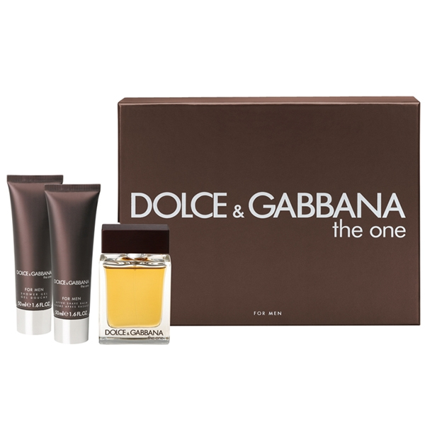 Dolce&Gabbana The One Men — набор (edt 100ml+a/sh balm 50ml+sh/gel 50ml) для мужчин