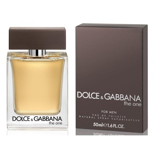 Dolce&Gabbana The One Men — туалетная вода 50ml для мужчин