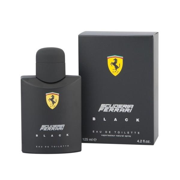 Ferrari Scuderia Black — туалетная вода 75ml для мужчин
