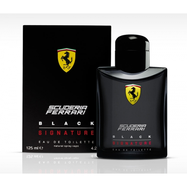 Ferrari Scuderia Black Signature — туалетная вода 40ml для мужчин
