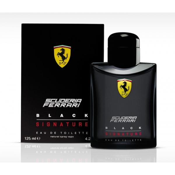 Ferrari Scuderia Black Signature — туалетная вода 4ml для мужчин