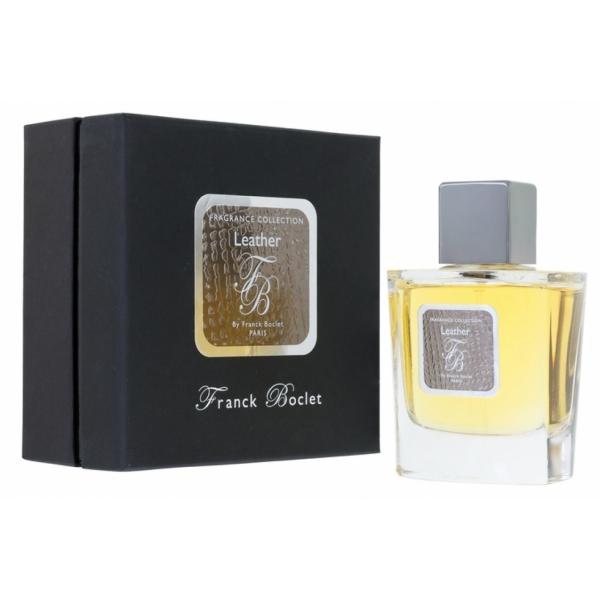 Franck Boclet leather — парфюмированная вода 100ml для мужчин