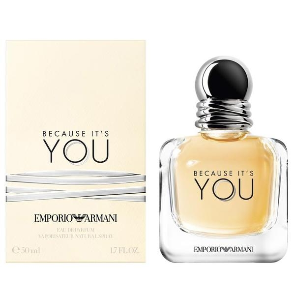Giorgio Armani Emporio Armani Because It's You — парфюмированная вода 50ml для женщин