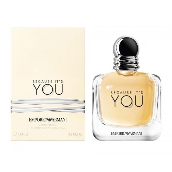Giorgio Armani Emporio Armani Because It's You — парфюмированная вода 100ml для женщин
