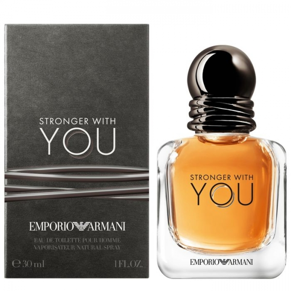 Giorgio Armani Emporio Armani Stronger With You — туалетная вода 30ml для мужчин
