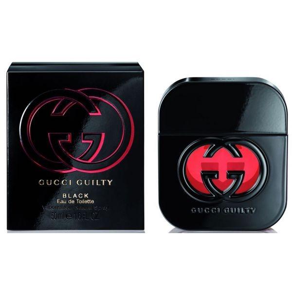 Gucci Guilty Black — туалетная вода 50ml для женщин