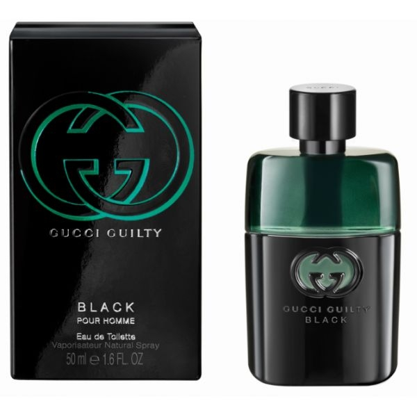 Gucci Guilty Black Pour Homme — туалетная вода 50ml для мужчин