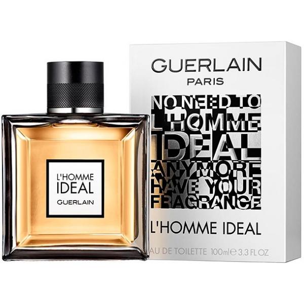 Guerlain L`Homme Ideal — туалетная вода 100ml для мужчин
