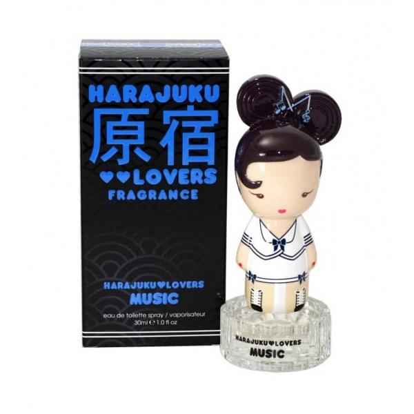 Harajuku Lovers Music — туалетная вода 30ml для женщин