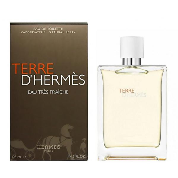 Hermes Terre D`Hermes Eau Tres Fraiche — туалетная вода 125ml для мужчин