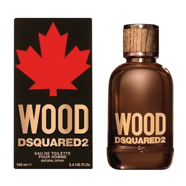 Dsquared2 Wood Pour Homme — туалетная вода 100ml для мужчин