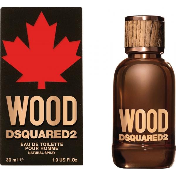 Dsquared2 Wood Pour Homme — туалетная вода 30ml для мужчин