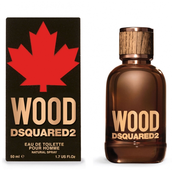 Dsquared2 Wood Pour Homme — туалетная вода 50ml для мужчин