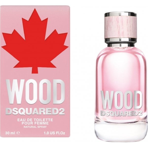 Dsquared2 Wood Pour Femme — туалетная вода 30ml для женщин