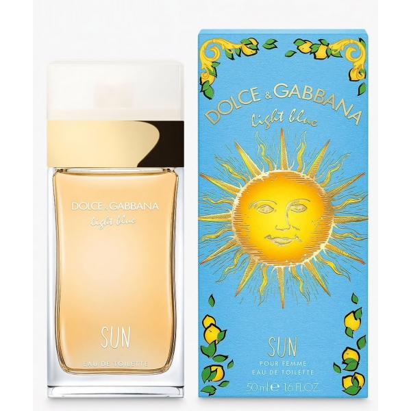 Dolce&Gabbana Light Blue Sun — туалетная вода 50ml для женщин