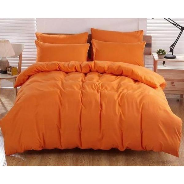 Постельный комплект Апельсиновый, поплин