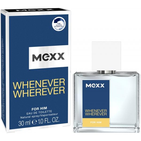 Mexx Whenever Wherever For Him — туалетная вода 30ml для мужчин