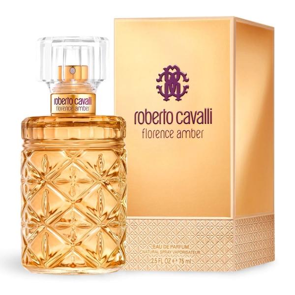 Roberto Cavalli Florence Amber — парфюмированная вода 75ml для женщин