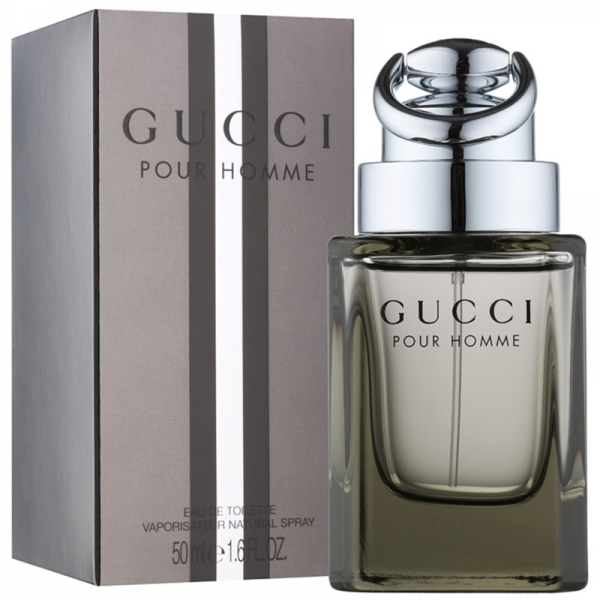Gucci By Gucci Pour Homme — туалетная вода 50ml для мужчин
