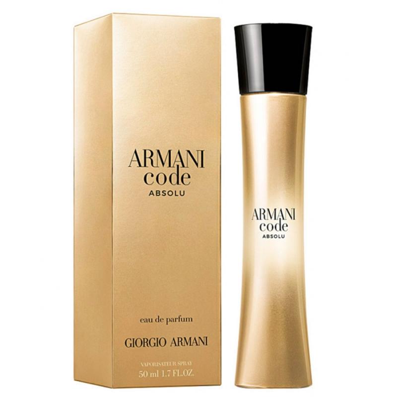 Giorgio Armani Code Absolu Femme — парфюмированная вода 50ml для женщин