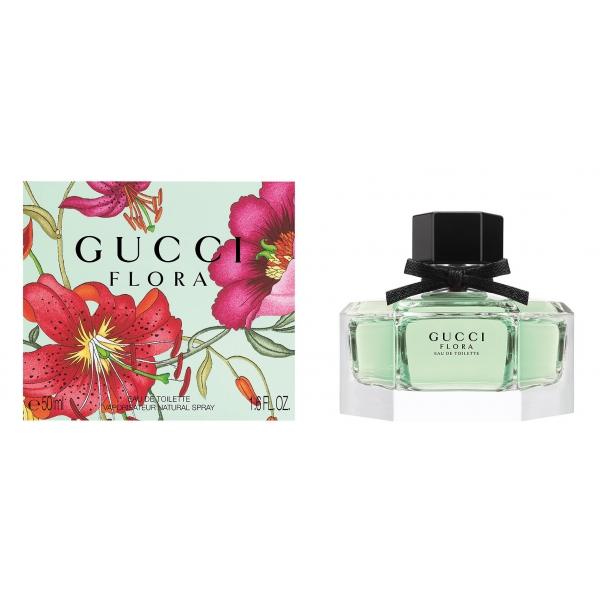 Gucci Flora By Gucci — туалетная вода 50ml для женщин