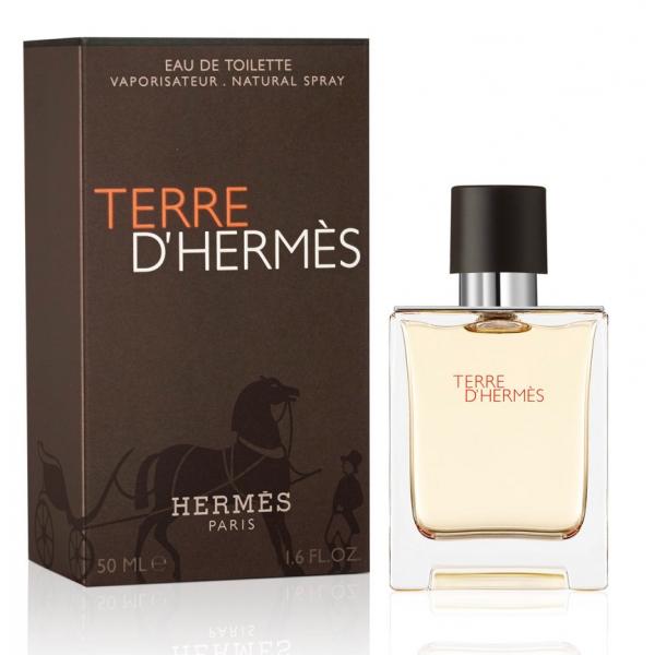 Hermes Terre D`Hermes — туалетная вода 50ml для мужчин